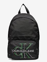 Calvin Klein - CAMPUS BP 43 GLOW - torby - black - 0