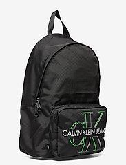 Calvin Klein - CAMPUS BP 43 GLOW - torby - black - 2