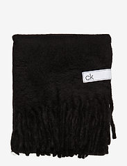 Calvin Klein - BOILED SCARF - sjalar & halsdukar - black - 2