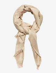 Calvin Klein - LUREX STOLE - tørklæder - champagne - 0