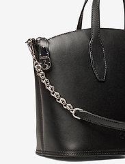 Calvin Klein - LOCK DOMED TOTE - handväskor - black - 3