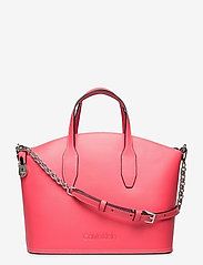 LOCK DOMED TOTE - CORAL