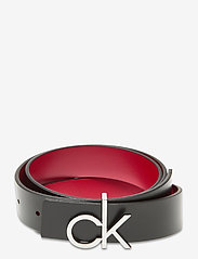 Calvin Klein - CK LOW REV GIFTPACK - riemen - black / chilli pepper - 0