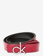 Calvin Klein - CK LOW REV GIFTPACK - riemen - black / chilli pepper - 1