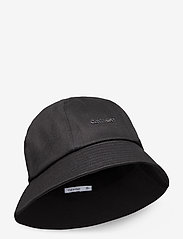 Calvin Klein - METAL SAFARI HAT - bucket hats - black - 0
