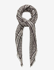 Calvin Klein - CK MONO J SCARF 130x130 - scarves - bleached sand mix - 0