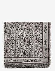 Calvin Klein - CK MONO J SCARF 130x130 - scarves - bleached sand mix - 1