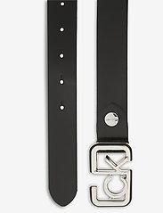 Calvin Klein - ADJ FIXED BUCKLE BELT 30MM - riemen - black - 1
