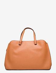 Calvin Klein - TOTE LG - handväskor - cognac - 1