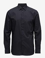 Calvin Klein - WALKER BASIC STRETCH - basic overhemden - true navy - 0