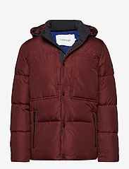 Calvin Klein - LIGHT DOWN MID LENGT - padded jackets - iron red - 0
