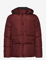 Calvin Klein - LIGHT DOWN MID LENGT - padded jackets - iron red - 1