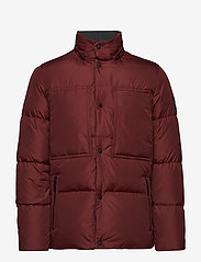 Calvin Klein - LIGHT DOWN MID LENGT - padded jackets - iron red - 2