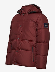 Calvin Klein - LIGHT DOWN MID LENGT - padded jackets - iron red - 5