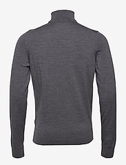 Calvin Klein - SUPERIOR WOOL TURTLE NECK - basic knitwear - mid grey heather - 1