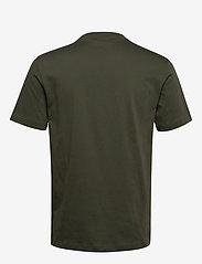 Calvin Klein - COTTON FRONT LOGO T-SHIRT - short-sleeved t-shirts - dark olive - 1