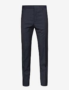 MODERN TEXTURED SUIT - pantalons habillés - sky captain