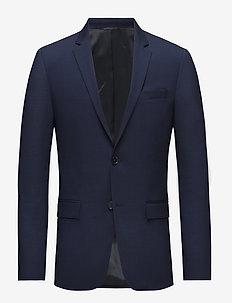 STRETCH WOOL SLIM SUIT BLAZER - blazers met enkele rij knopen - ink blue