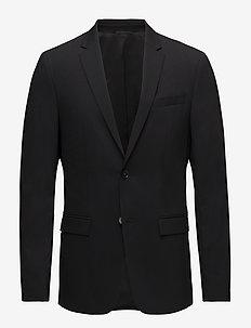 STRETCH WOOL SLIM SU - PERFECT BLACK