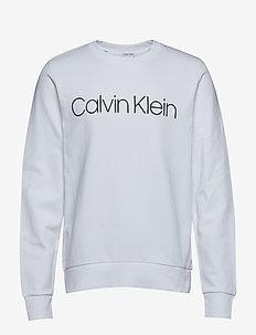 COTTON LOGO SWEATSHI - sweats - calvin white