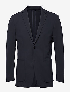SOLID JERSEY CASUAL  BLAZER - single breasted blazers - calvin navy