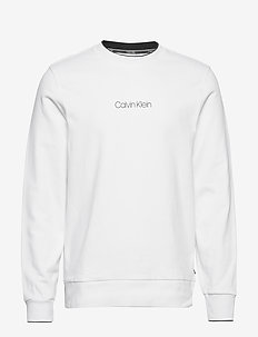 CARBON BRUSH LOGO SWEATSHIRT - CALVIN WHITE
