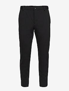 COMPACT JERSEY PANT - pantalons habillés - calvin black