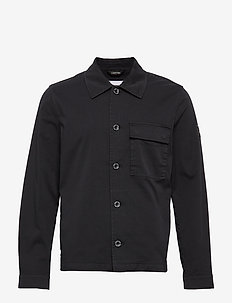 GMT WASHED CTN WORKWEAR JACKET - calvin black