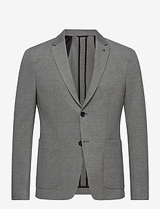 JERSEY STRETCH SLIM BLAZER - kavajer - mid grey heather