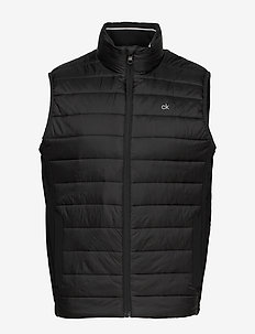LIGHT WEIGHT SIDE LOGO VEST - vesten - ck black