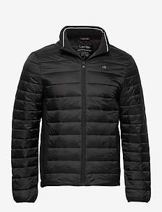 LIGHT WEIGHT SIDE LOGO JACKET - gefütterte jacken - ck black