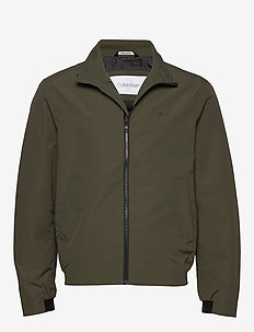 CASUAL NYLON BLOUSON JACKET - vindjakker - dark olive