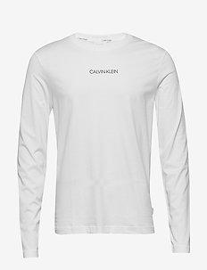 LIQUID LOGO LONG SLEEVE T-SHIRT - basic t-shirts - bright white