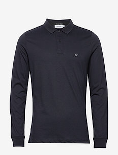 LIQUID TOUCH LONG SLEEVE POLO - polos à manches longues - calvin navy
