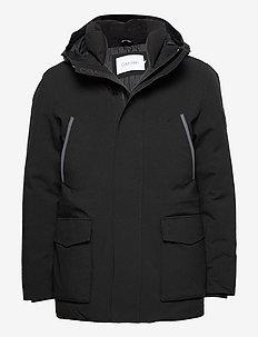 PREMIUM CANVAS TECHNICAL JACKET - vestes légères - ck black