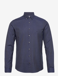 SOFT TOUCH BD SLIM SHIRT - koszule casual - navy