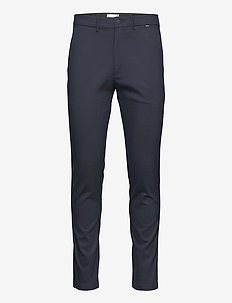 TECH STRETCH SLIM FIT CHINO - chinot - calvin navy