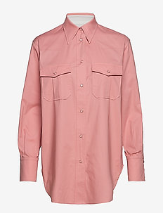 COTTON WESTERN SHIRT - BLUSH