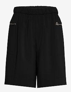 TRAVEL CREPE SHORT - casual szorty - calvin black