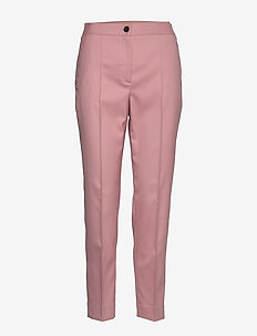 TWILL ELASTIC CIGARE - MUTED PINK