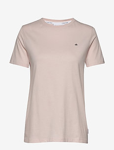 SMALL LOGO EMBROIDER - t-shirty - perfect peach 107-110