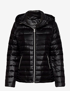 ESSENTIAL LT DOWN JACKET - padded jackets - ck black