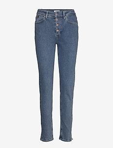 HIGH RISE SLIM PANT - slim jeans - natal blue