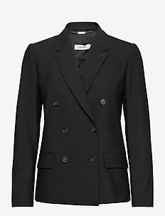 DOUBLE BREASTED BLAZER - getailleerde blazers - ck black