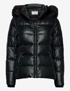 ESSENTIAL REAL DOWN JACKET - gewatteerde jassen - ck black