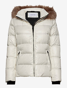 ESSENTIAL REAL DOWN JACKET - dun- & vadderade jackor - snow white