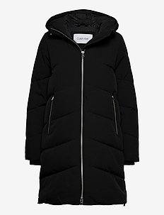 ELEVATED DOWN LONG L - down- & padded jackets - ck black