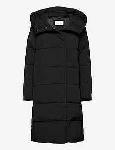 LONG COAT - dunkåper - ck black
