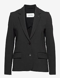 PUNTO MILANO STRETCH BLAZER - casual blazers - ck black