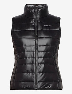LT PACKABLE DOWN VEST - puffer vests - ck black